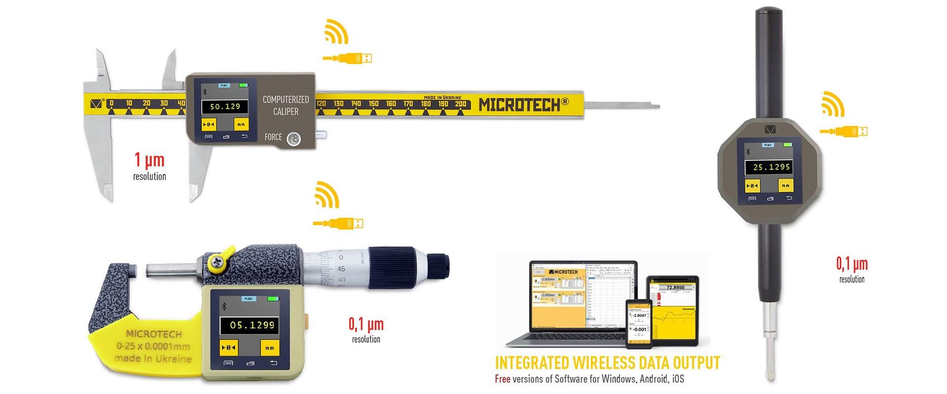 Tolómérők, mikrométerek