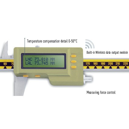 Tolómérők, mikrométerek | Hőmérséklet kompenzációs mérés