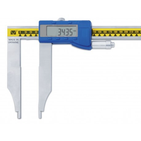Precíziós hosszú mérőpofás erőhatárolós tolómérő